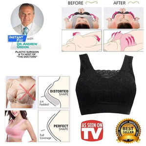 Wire-Free Classy Coverage Push-Up Bra
