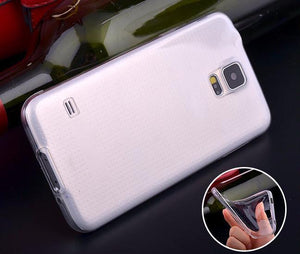 Clear Silicone Cover for Samsung Galaxy S5