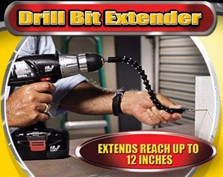 Powerful Snake Drill Bit Extender - 60% OFF!