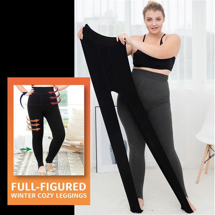 Full-Figured Winter Cozy Leggings