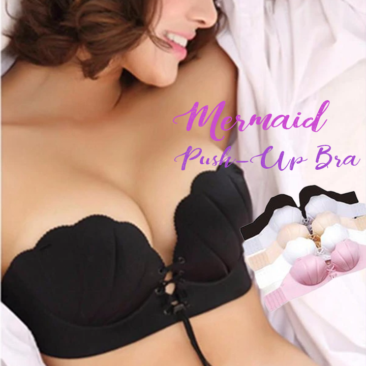 Mermaid Strapless Push-Up Bra