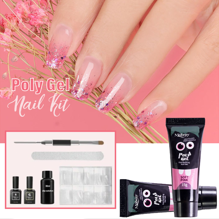 Easy PolyGel Nail Lengthening Kit