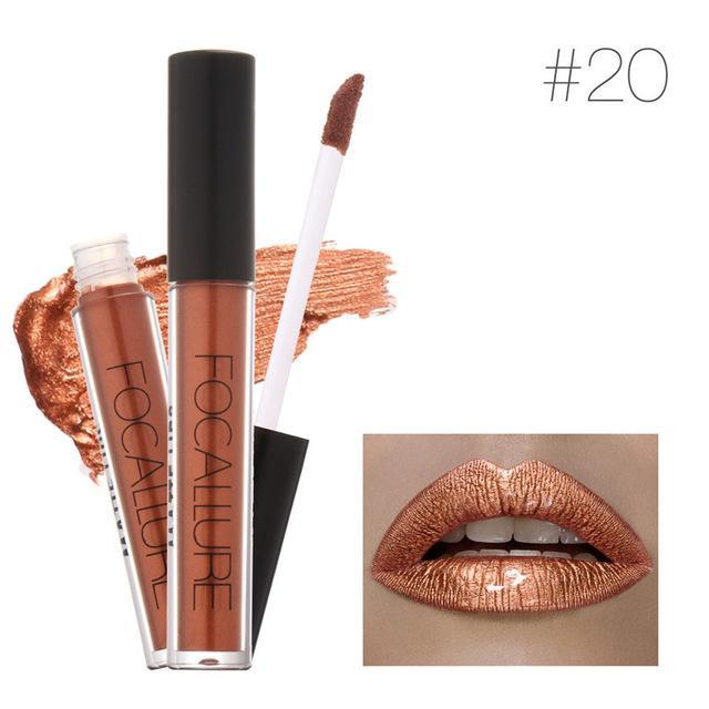 Metal Glitter Lip Gloss - 70% OFF!