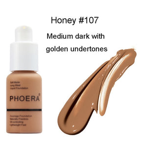 PHOERA Soft Matte Liquid Foundation - 50%OFF!