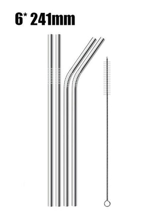 Reusable Stainless Steel Straw -70%OFF