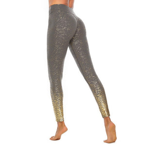 Glitter Gradient Leggings