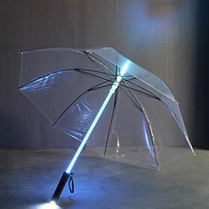 7 Color LED Light Up Umbrella