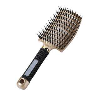 Detangler Bristle Nylon Hairbrush - BUY 1 GET 1 FREE LAST DAY