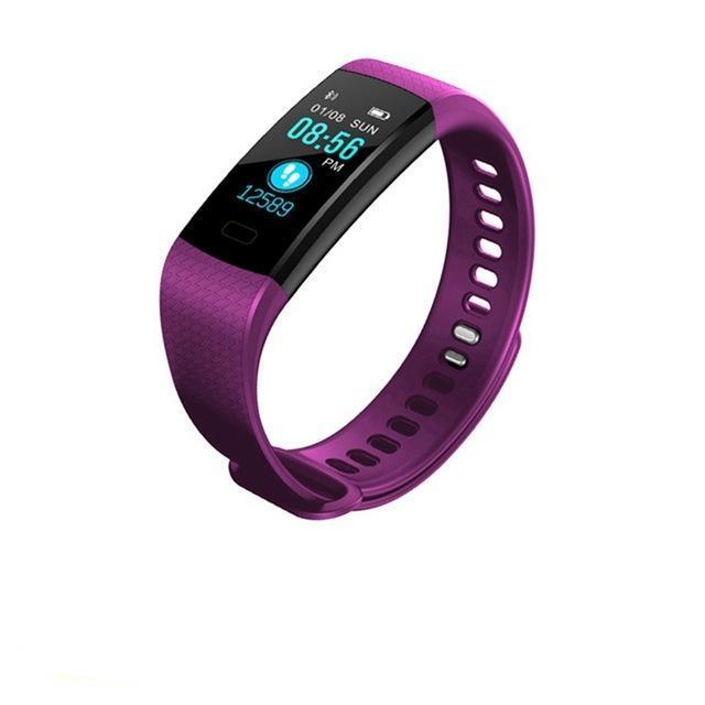 Smart Wristband Purple