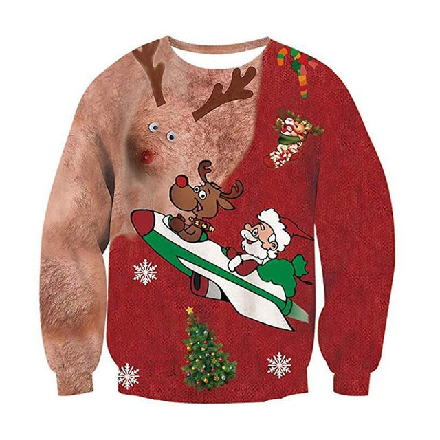 Women and Men - Funny Ugly Christmas Sweater 2020
