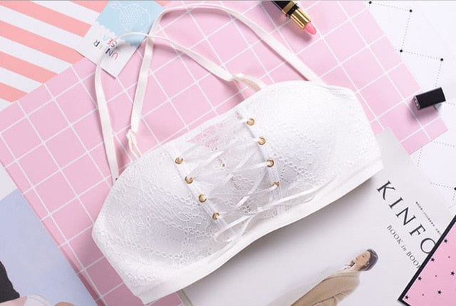 Plus Size Invisible Strapless Push Up Bra