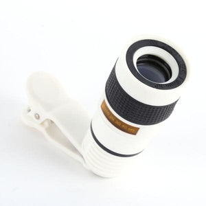 8x Zoom Telescope Lens For Smartphone SALE - 75% OFF!
