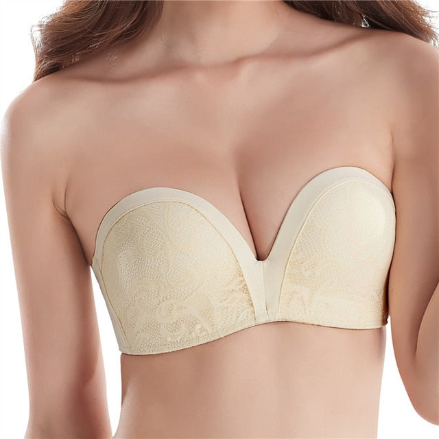 Push Up Strapless Bras