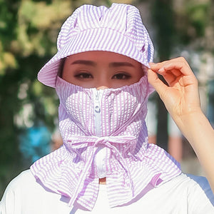Multi Function Anti UV Summer Hat