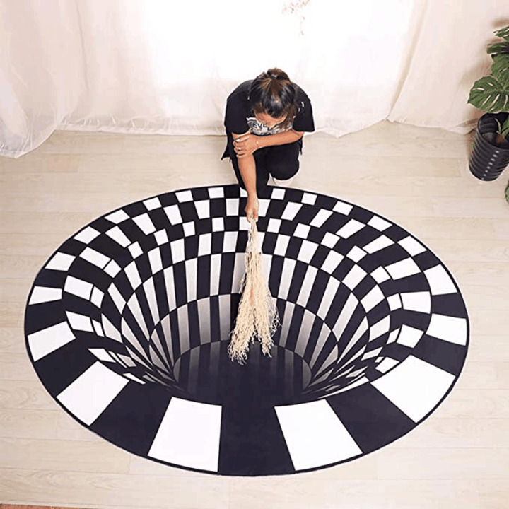 Optical Illusion Rug - High Quality Material