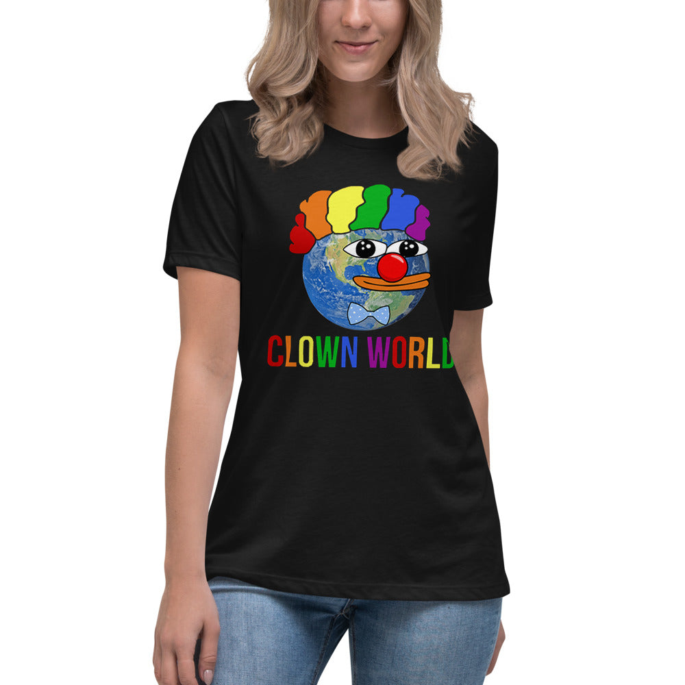 Clown World Women's Relaxed T-Shirt