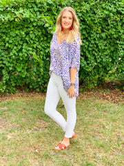 Made to Impress Leopard Print Tunic