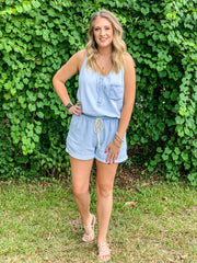 Chambray Dreams Romper