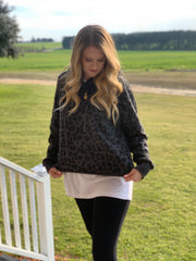 Came to Chill Leopard Hoodie - The Ivy Exchange