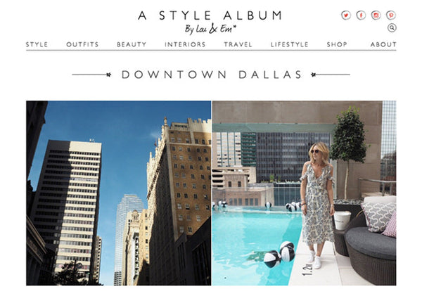 A Style Album: Downtown Dallas