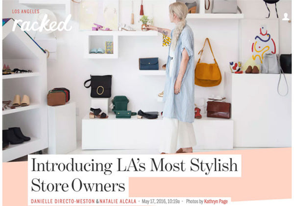 Racked LA: Kristen Cole - Most Stylish Shop Owners