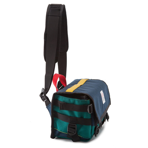 Field Bag, Navy/Teal