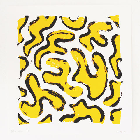 Squiggle Screenprint