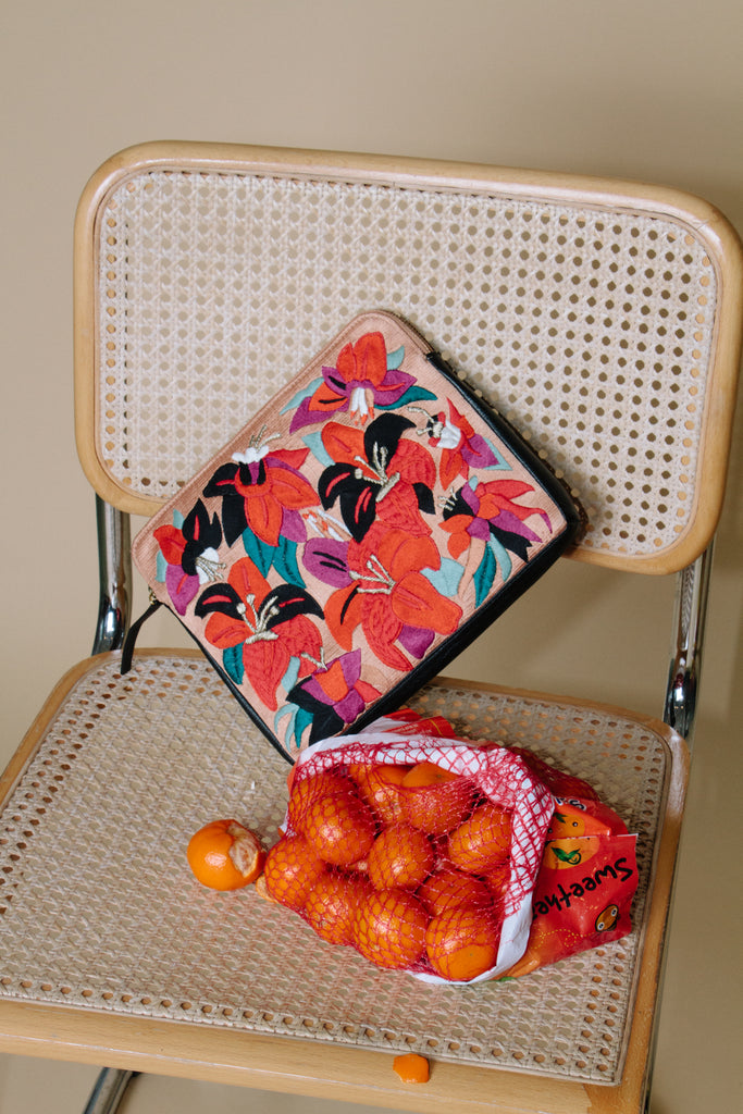 Safari Clutch, Floral Punch