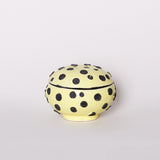 Jewelry Box, Black/Yellow
