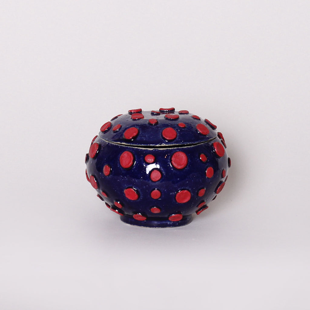Jewelry Box, Blue/Red