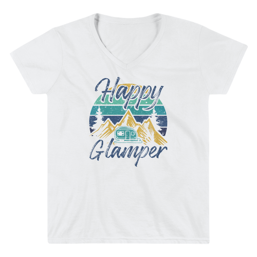 Happy Glamper V-Neck