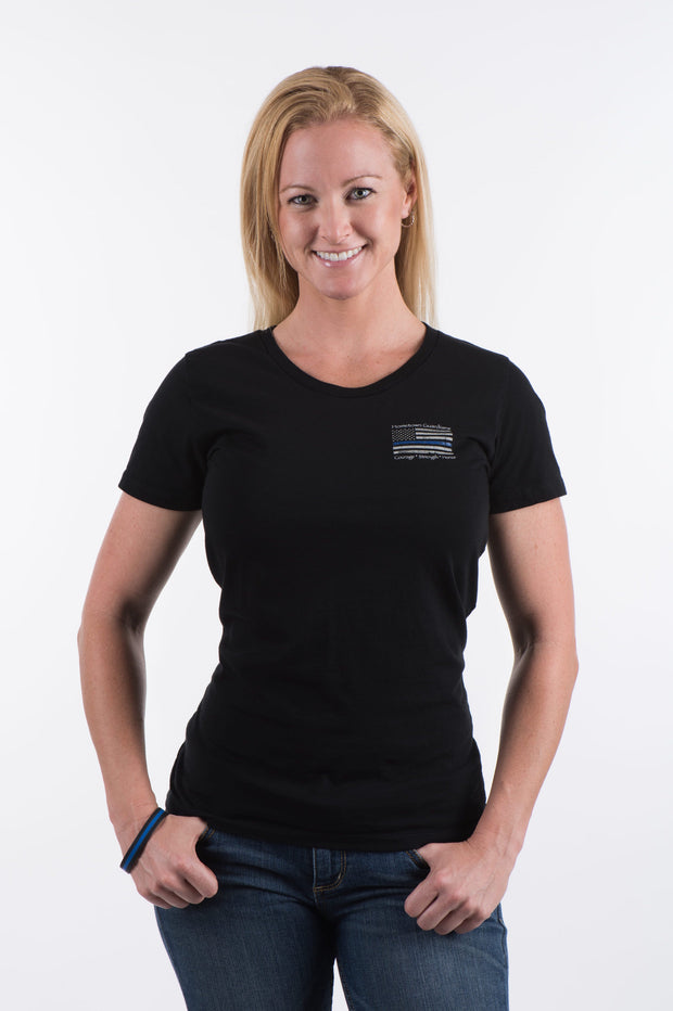 Ladies Round Neck Front 2