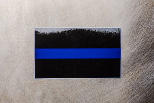 Thin Blue Line Decal 1-edit