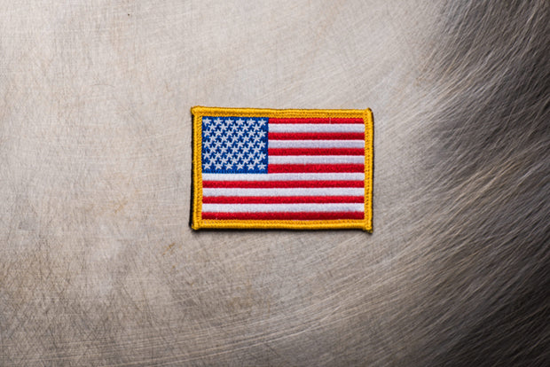 American Flag Patch 2