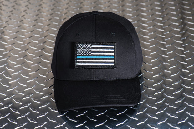 Thin Blue Line Cap (Black) 1