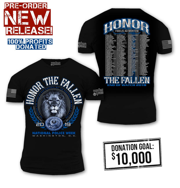 2018 Law Enforcement Memorial Shirt
