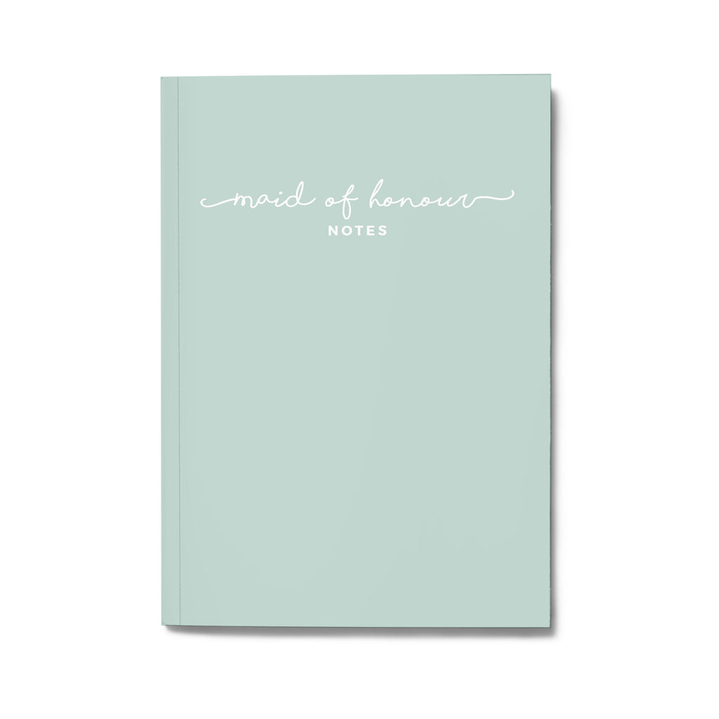 MAID OF HONOUR NOTES