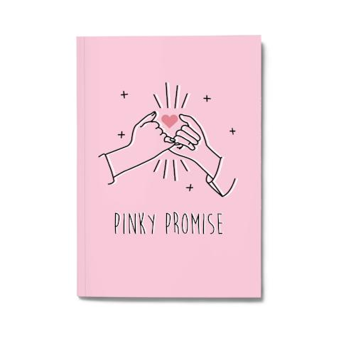 PINKY PROMISE NOTEBOOK