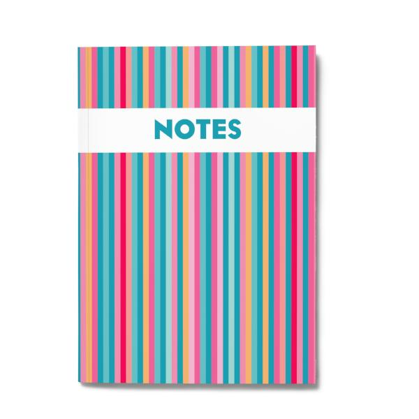 BOLD & BRIGHT NOTEBOOK
