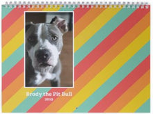 Load image into Gallery viewer, 2019 Brody the Pit Bull Calendar