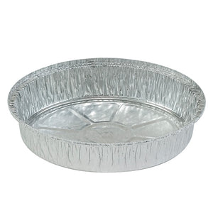 "Aluminum Pan - 9"" Round With Board Lid - 3 Count"