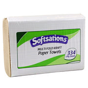 Multifold Brown Paper Towels - Case