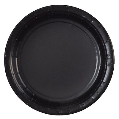 Paper Plate - Black