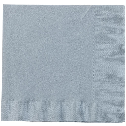 Lunch Napkin - Silver - 20 Count