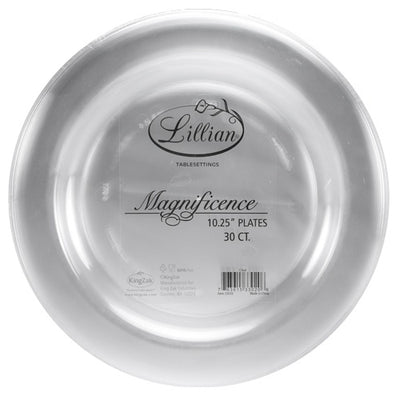 Plastic Plate - Magnificence - 10.25