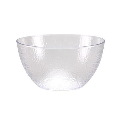 Serving Bowl - Clear Pebbled - 60 Oz.
