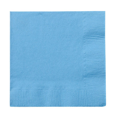 Lunch Napkin - Light Blue - 20 Count