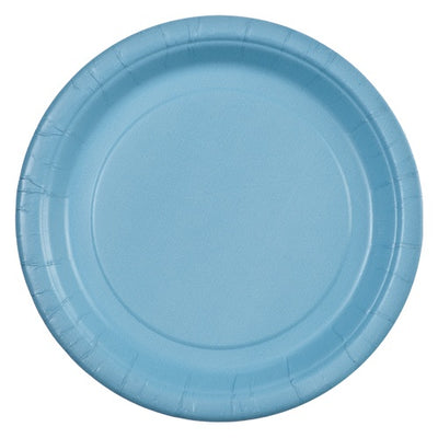 Paper Plate - Light Blue