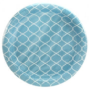 Paper Plate - Blue Lattice