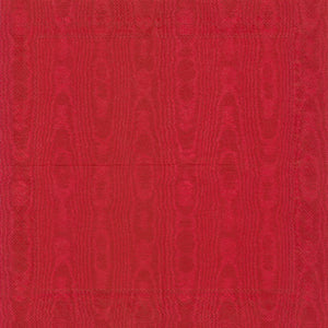 Beverage Napkin - Moiree Red - 20 Count